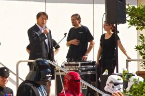 Rede des japanischen Konsuls